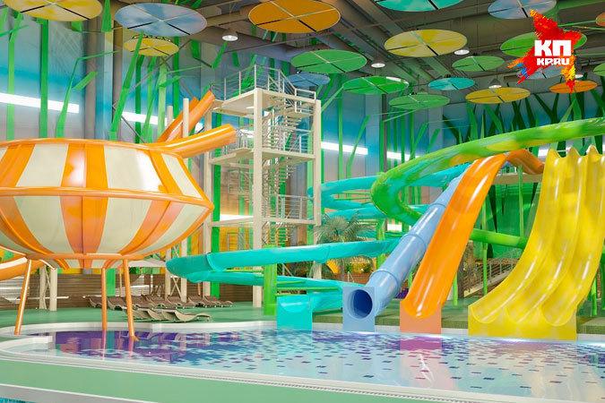 Посещение аквапарка в Кстове